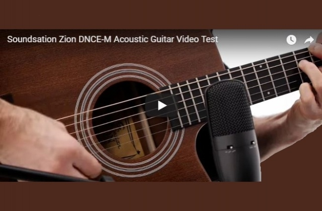 SOUNDSATION ZION DNCE-M - VIDEO TEST