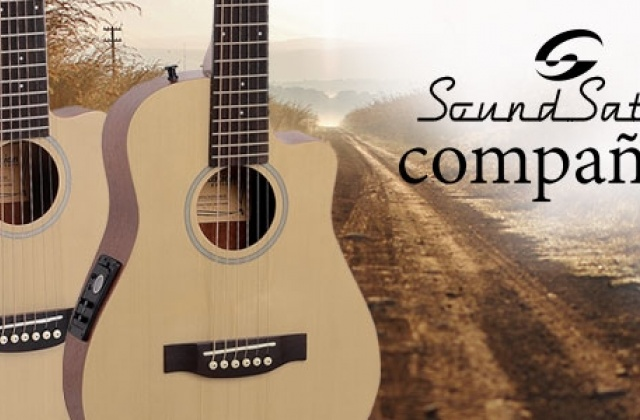 Soundsation introduces a brand new 84cm traveller guitar: the Compañera!