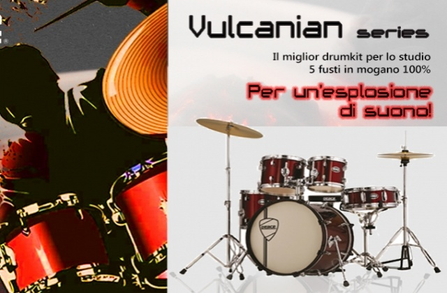 Vulcanian series – the best drumkit to start your musical journey