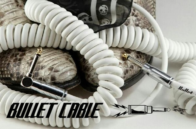 BULLET CABLE: the ultimate professional instrument cables