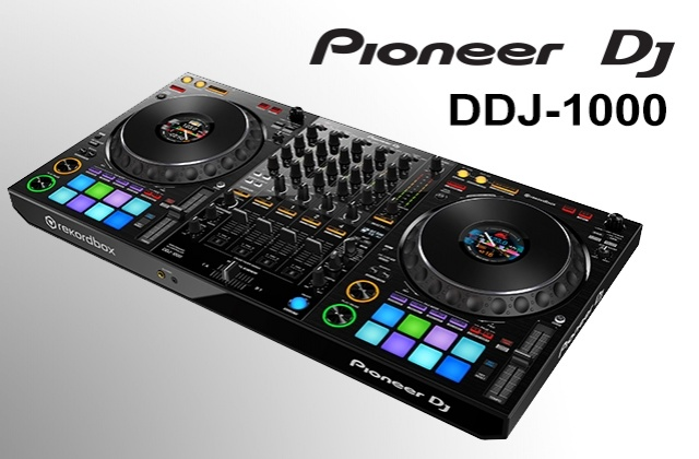 Pioneer DJ introduces the DDJ-1000 controller,