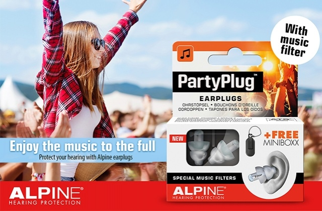 Alpine for festival season