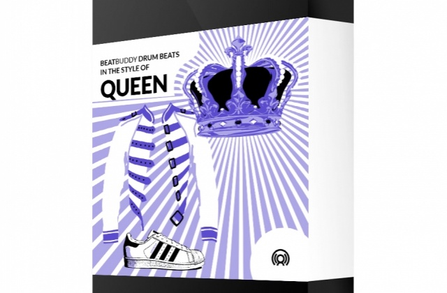 A Queen beats collection for Singular Sound BeatBuddy