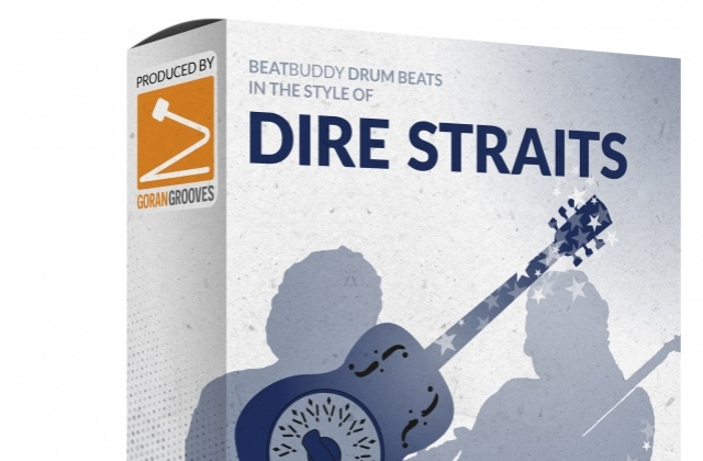 A new collection of beats In the style of Dire Straits for BEATBUDDY