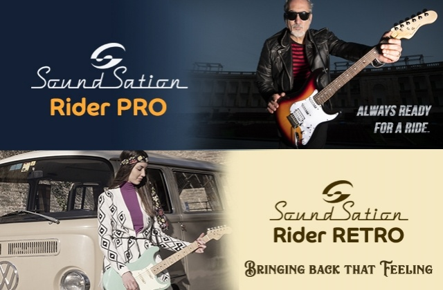 Rider Pro and Rider Retro: new electric guitars from Soundsation