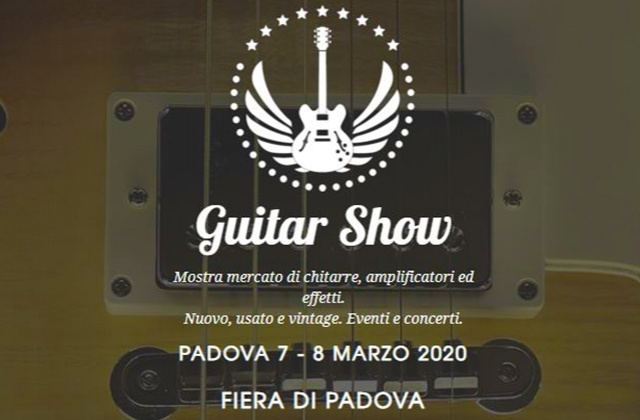 Frenexport attending Guitar Show, 7-8 March 2020 @Padova Exhibition area