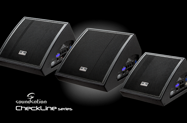 Introducing the brand new CheckLine Active Stage Monitors. Your polar star on the stage
