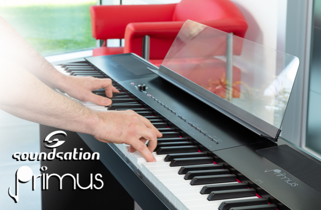​Soundsation PRIMUS: nuovo piano digitale 88 tasti Hammer Action
