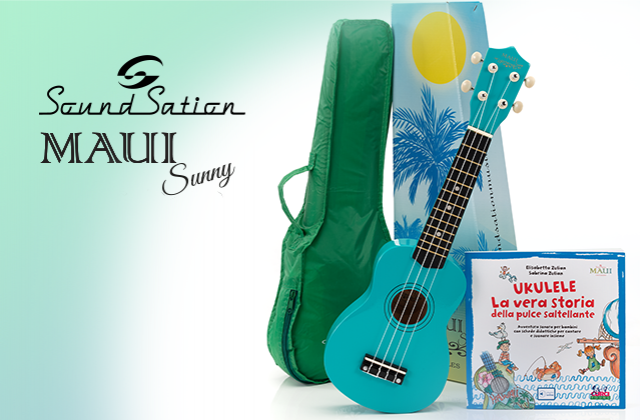 MAUI SUNNY BUNDLE: approach music in a funny way!