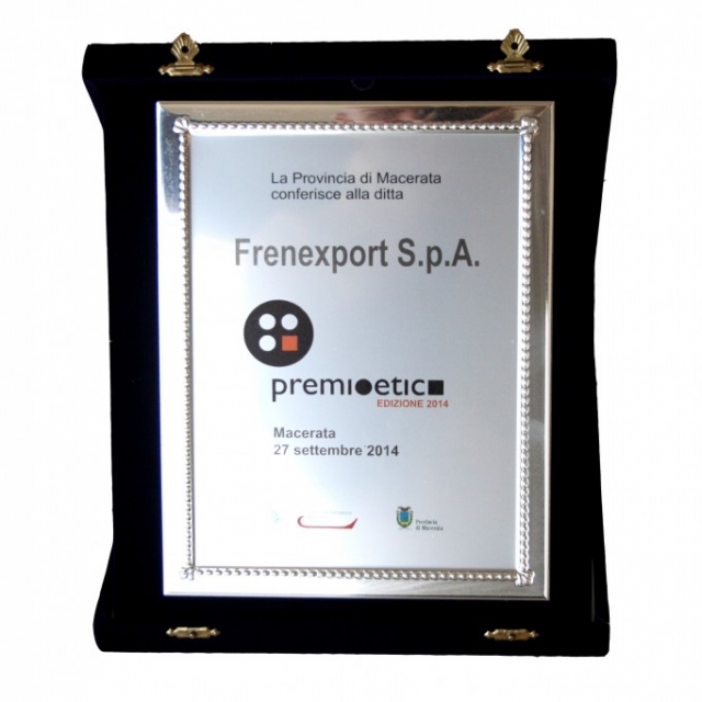 """Ethics Award 2014"" for Frenexport"
